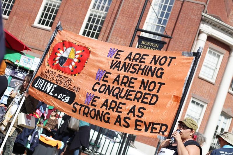 A Flag on Boston Common