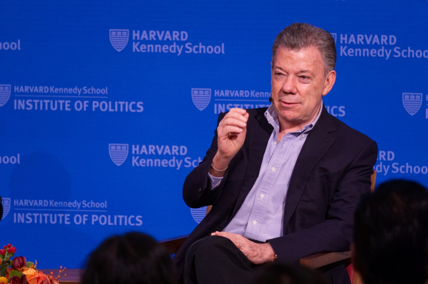 Colombian President at the IOP