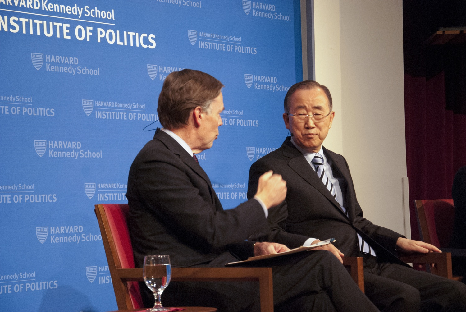 Ban Ki Moon at IOP