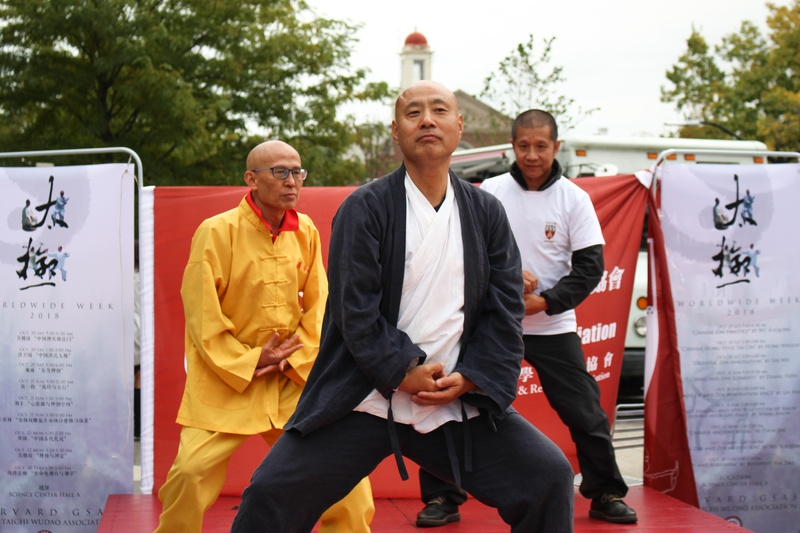Taichi in the Plaza