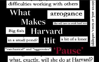 Harvard Hits Pause