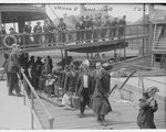 Immigrants arriving at Ellis Island, 1915.