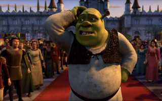"Still from the ""Shrek 2"" trailer."
