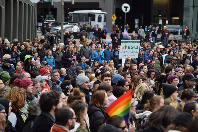 Transgender Rights Rally 2