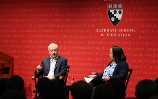 Michael  J. Sandel and Bridget Terry Long