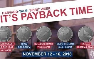 Harvard-Yale Spirit Week Events