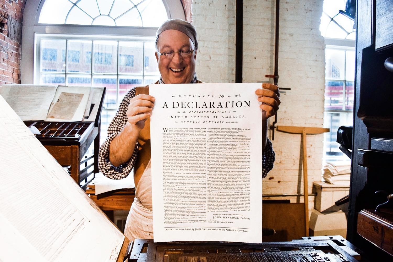 A Freshly Printed Declaration