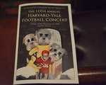 Harvard Yale Concert Pamphlet