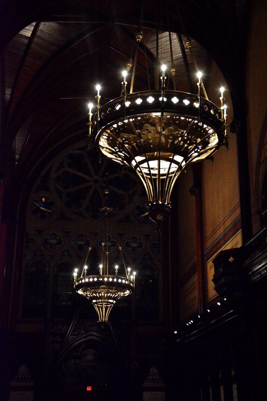 Memorial Hall Lights