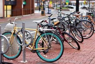 Bike Rack in Cambridge