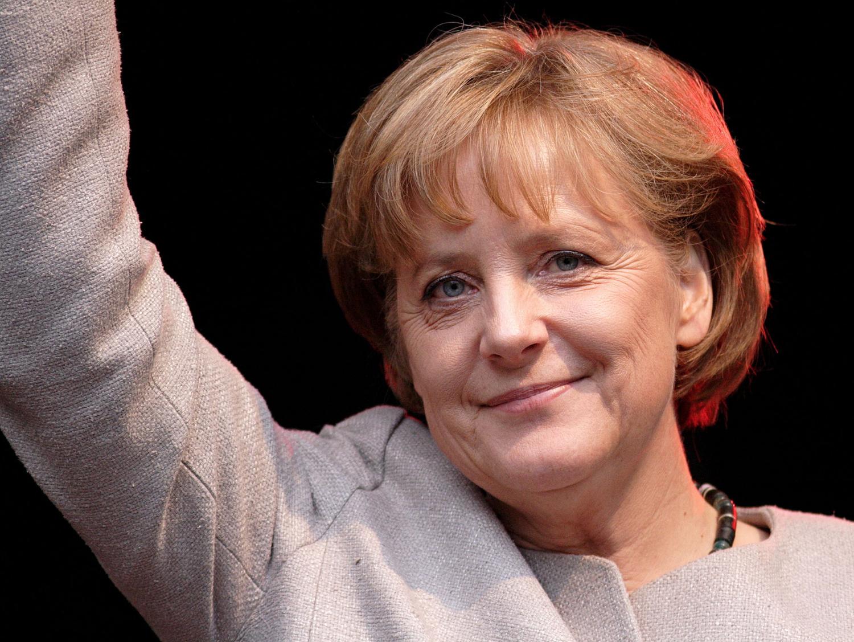 德国总理安格拉•默克尔(Angela Merkel)