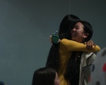Cat Hugs her Successor