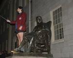 Harvard Band Takes on John Harvard
