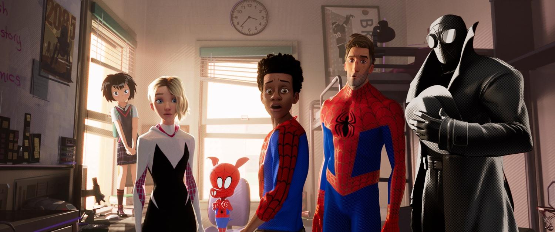 'Spider-Verse' still
