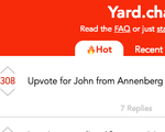 Yard Chat Home Page