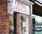 Central Barber Shop on Mass Ave