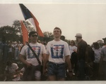 Students at 1993 March for Equal Rights
