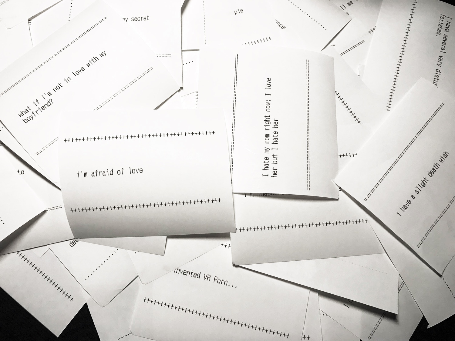 Love Receipts at Metalab
