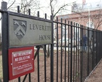 Leverett House Sign