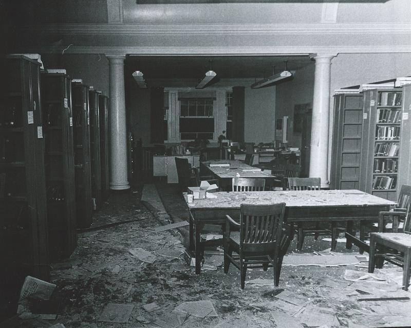 Destruction at Semitic Museum