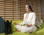 Kassi Underwood in Meditation