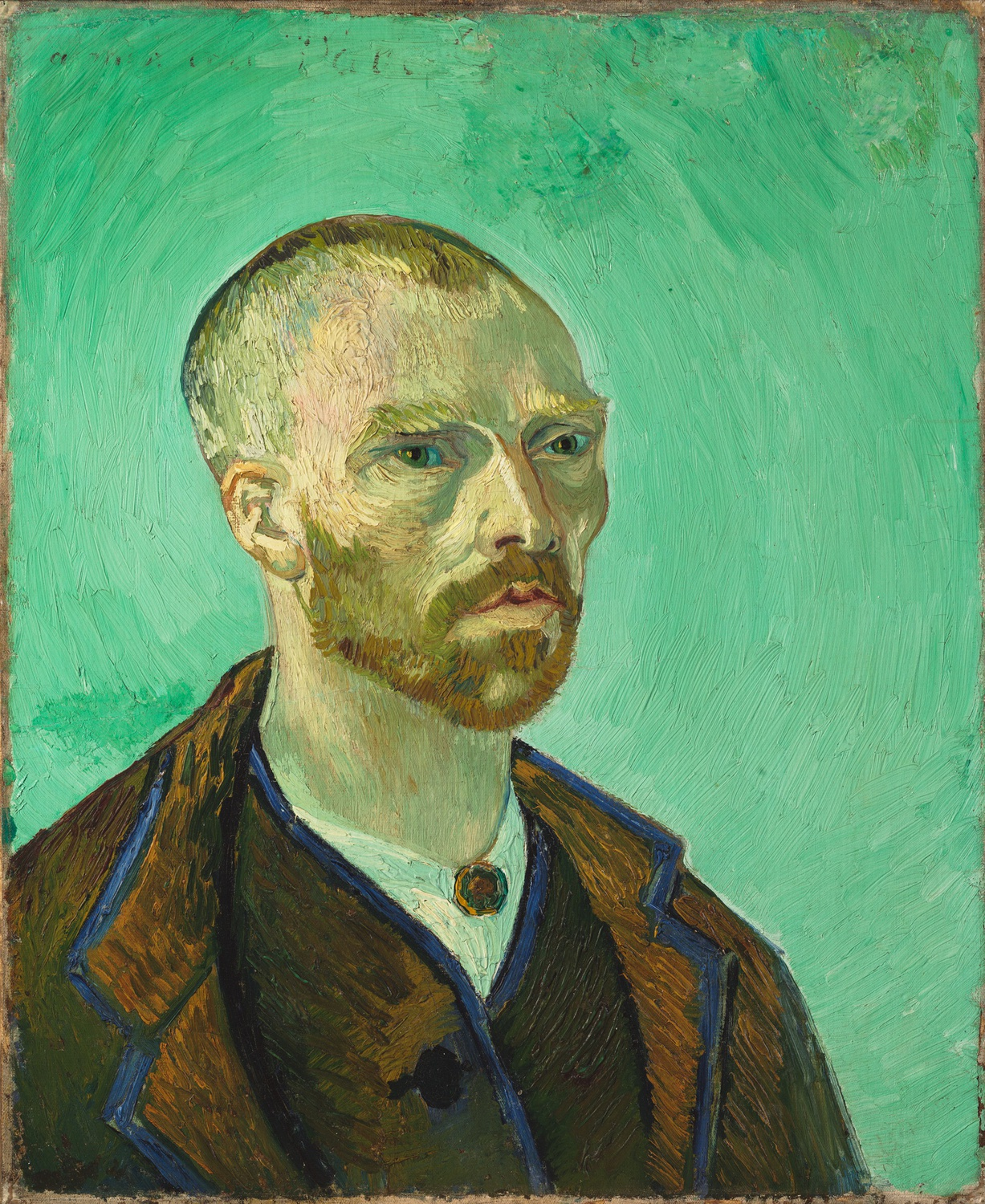 Van Gogh Self-Portrait Dedicated to Paul Gauguin