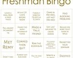 Flyby's Freshman Bingo