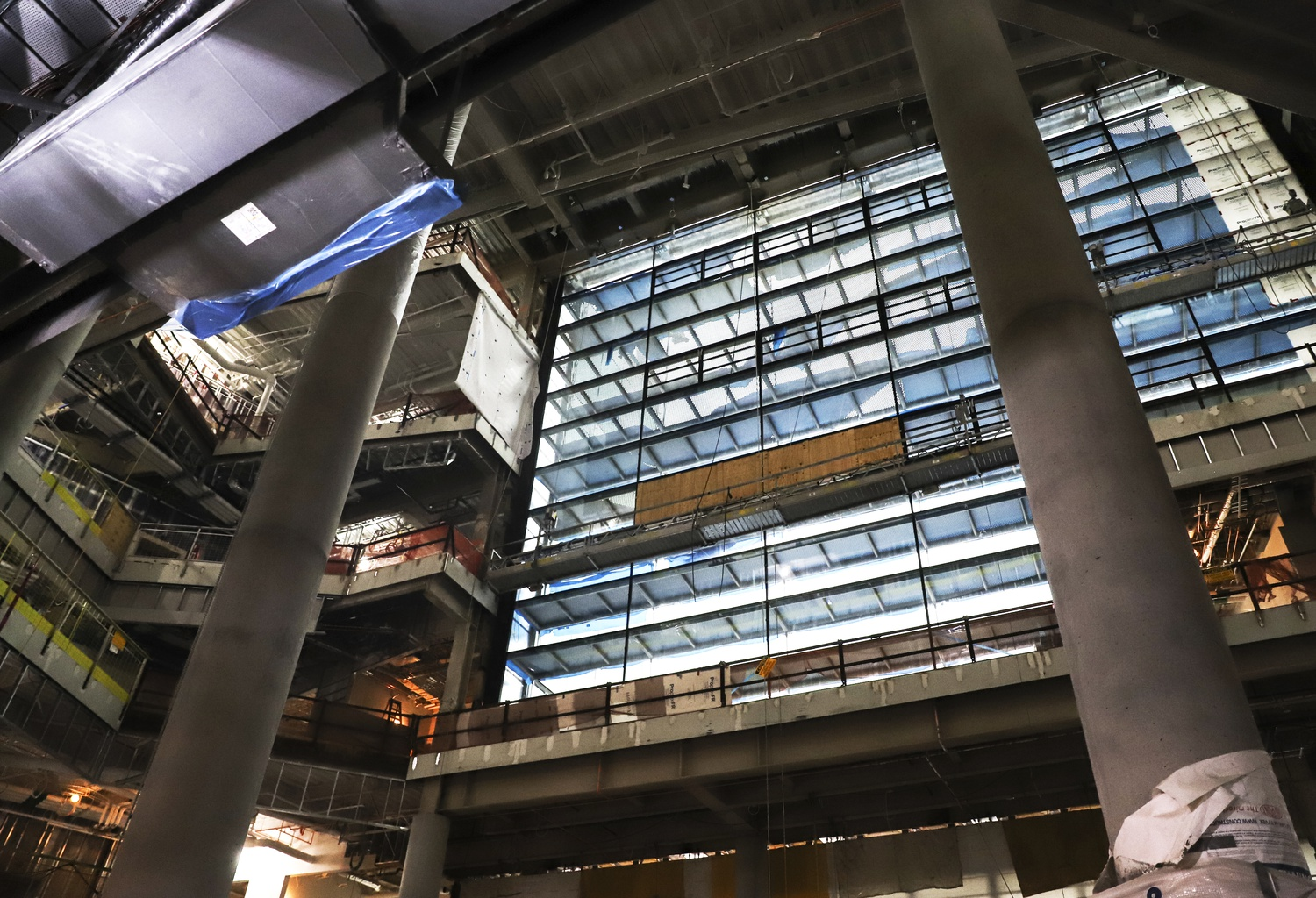 Inside the New Building