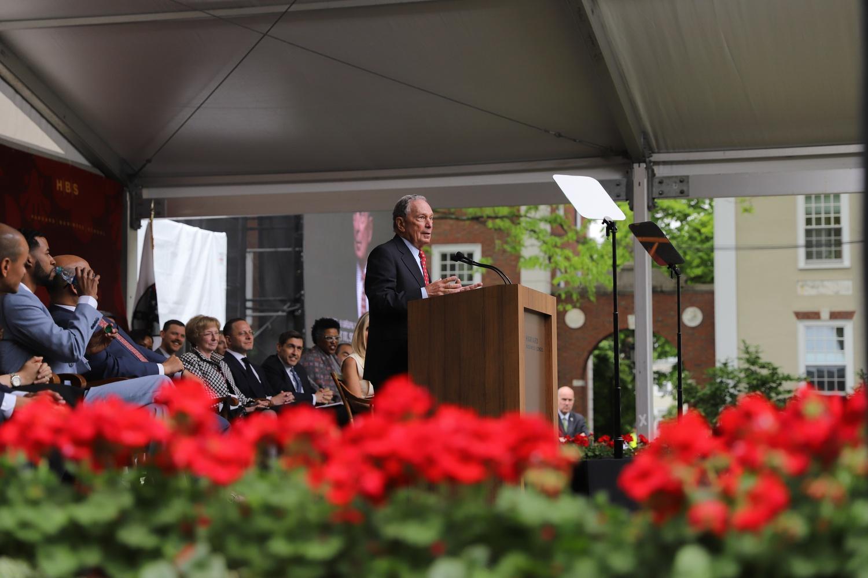 Michael Bloomberg at HBS