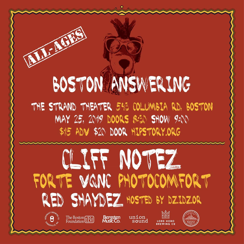 boston answering 2019