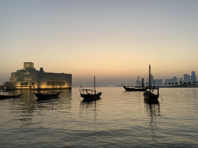 Summer Postcard: Doha
