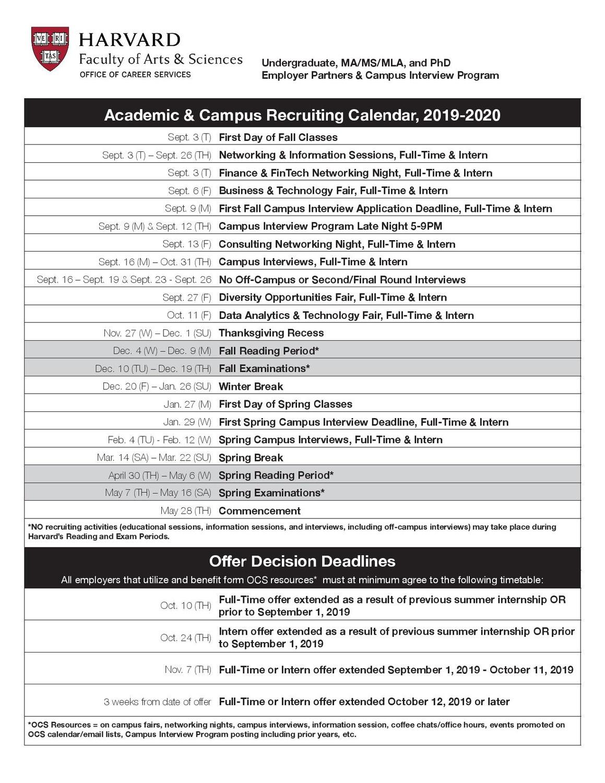 OCS Calendar Page 1