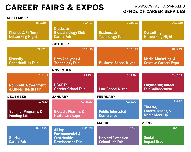 OCS Career Fair Poster 2019