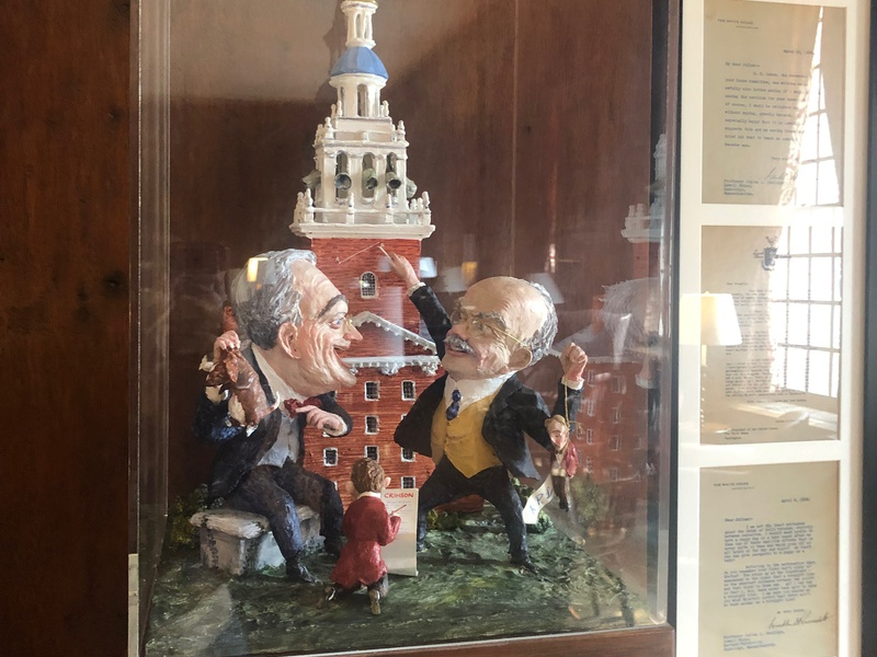 display in new lowell library
