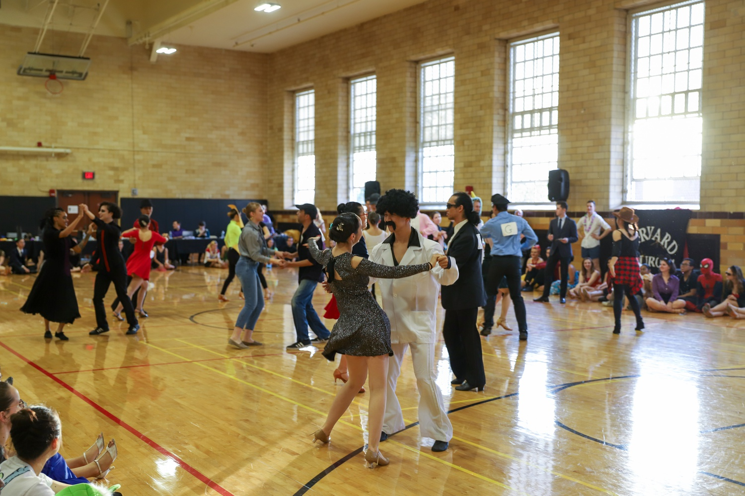 Swing Finals at Ballroom Competition