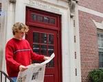 Paul G. Sullivan reads The Harvard Crimson