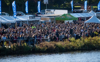 Head of the Charles Crowd