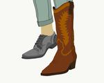 Kowboy illustration