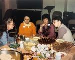 Female Activists Eat and Meet including Kathie Sarachild