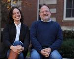 Lauren Kaminsky and Steven Biel