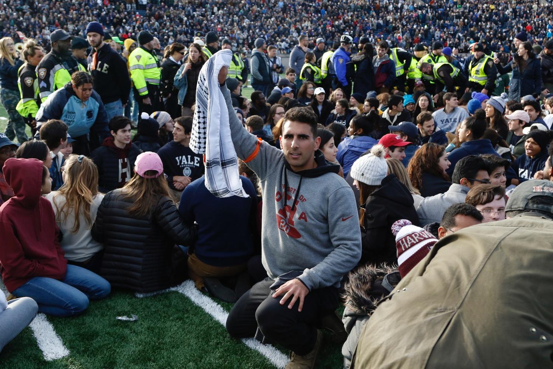 Harvard Yale Protest