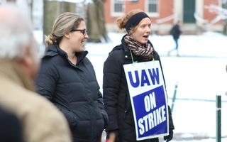 Two Picketers