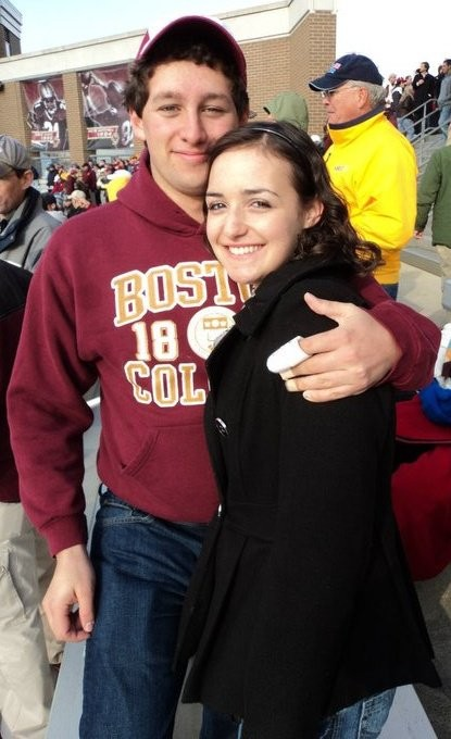 at the BC football game freshman year!