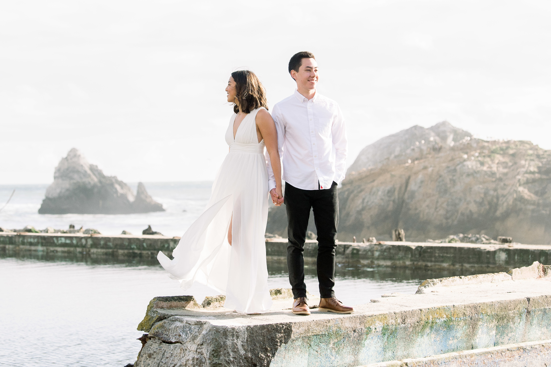 Kayla Bergdof and Benji Miller