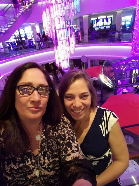 Gina's birthday and first cruise for Michelle 2017