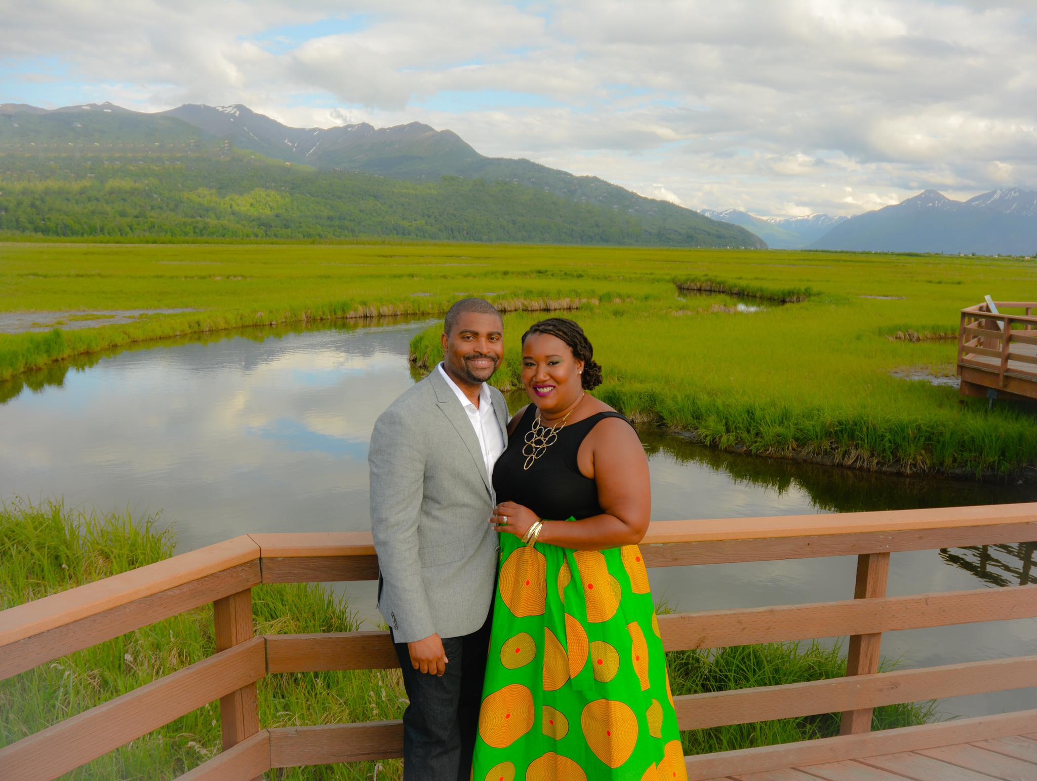 2017: WE kicked off the 10-Year Vow Renewal Celebration with a special photo shoot in Alaska --- if you want to see more of this photo shoot, visit https://www.icloud.com/sharedalbum/#B0f59UlCq0n3aU (copy and paste the link into your browser).