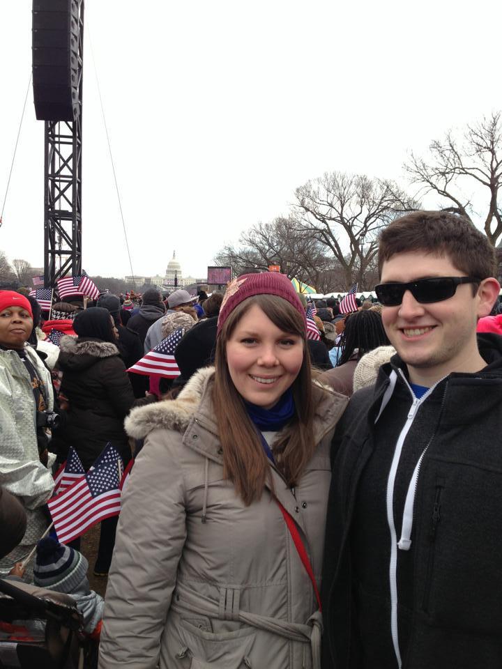 Celebrating President Obama's second inauguration (2013)