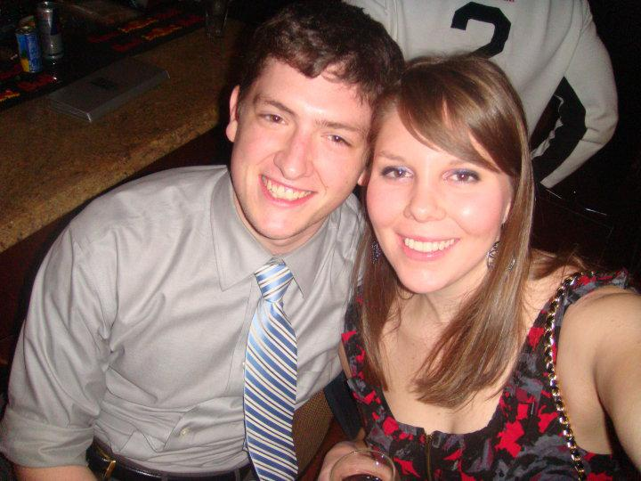 Our oldest picture, from a holiday party (2009)