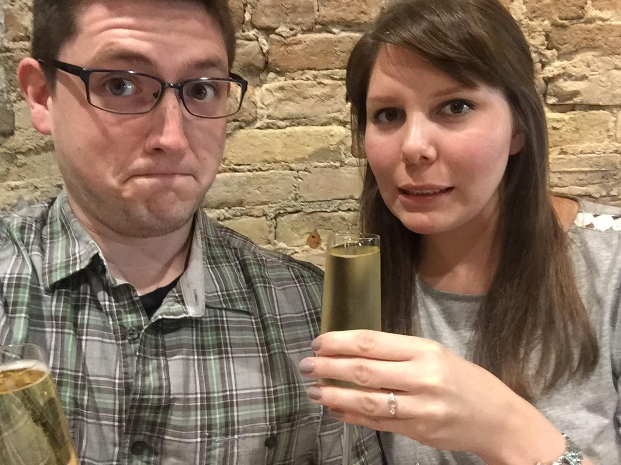 Cheers-ing to our engagement in Grand Rapids (2017)