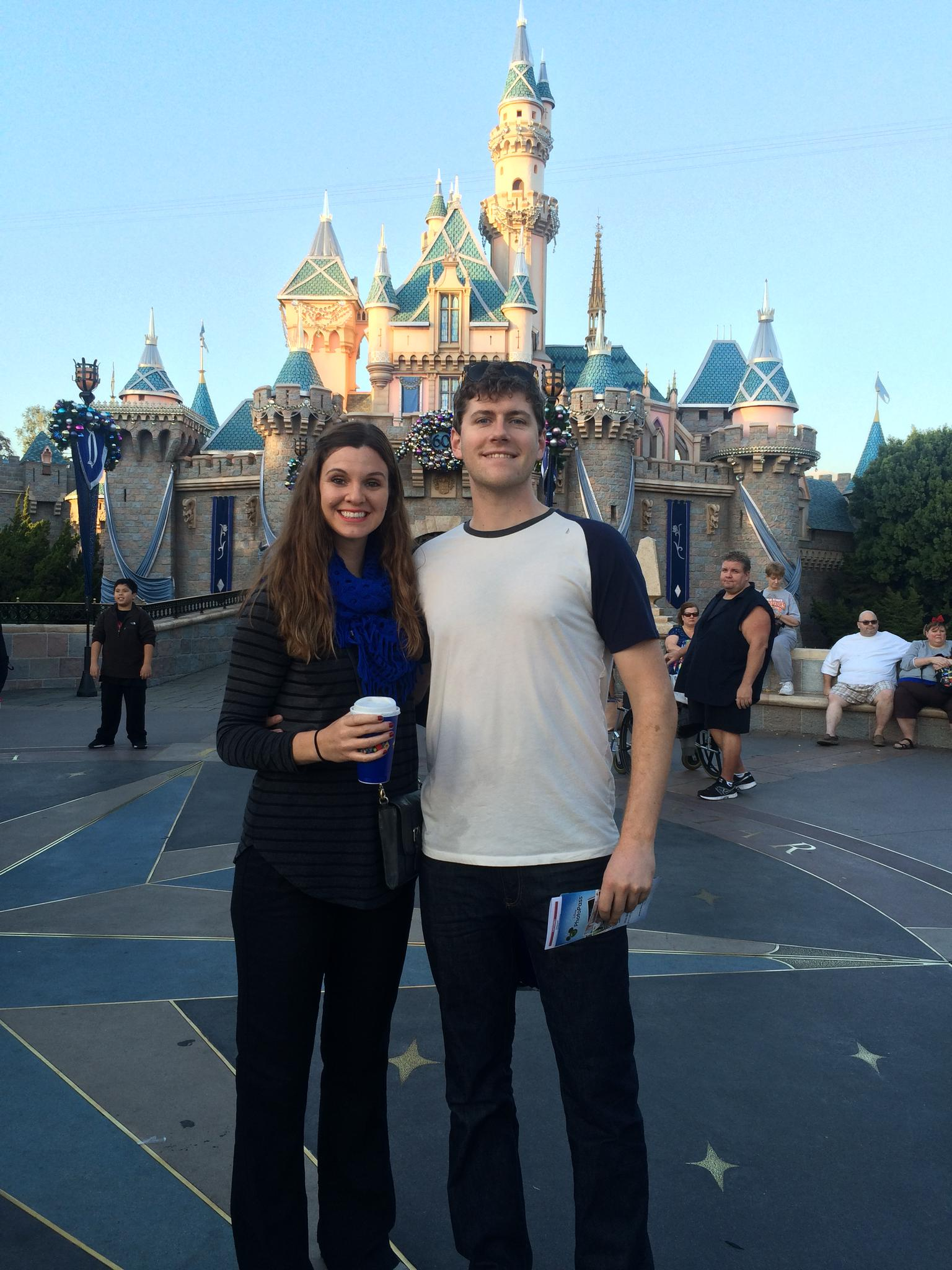 Disneyland, December 2015